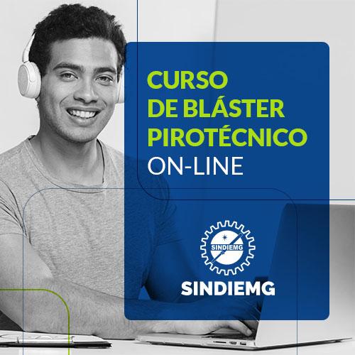 Curso de Bláster Pirotécnico online Sindiemg